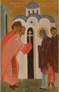 Преподобная Евфросиния, игумения и княжна Полоцкая